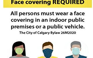 【中共病毒】卡城議會通過室內強制性口罩規定