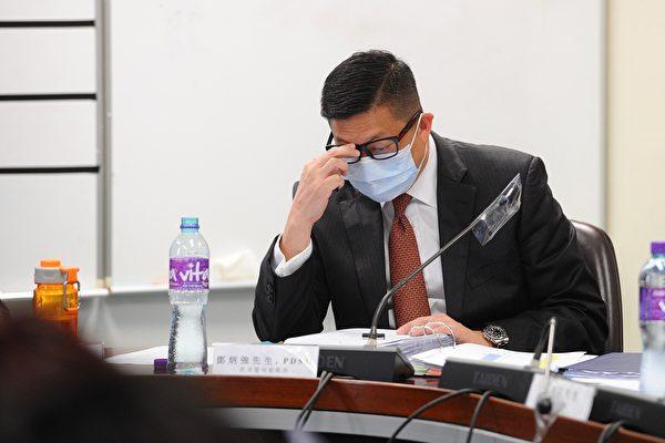 香港警務處處長鄧炳強。(宋碧龍/大紀元)
