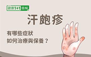 汗疱疹如何预防、保养与治疗?图解一次看懂
