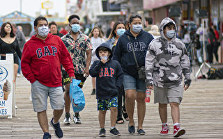 【新澤西疫情7.11】州長頒令 戶外必須戴口罩
