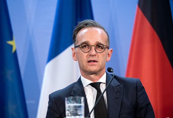 圖為德國外長馬斯(Heiko Maas)。(Bernd von Jutrczenka – Pool/Getty Images)