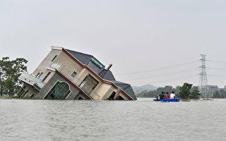 组图:中国多省遭遇罕见大洪灾