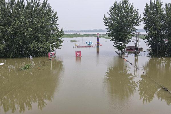 水患不断 长江第4号洪水即将形成