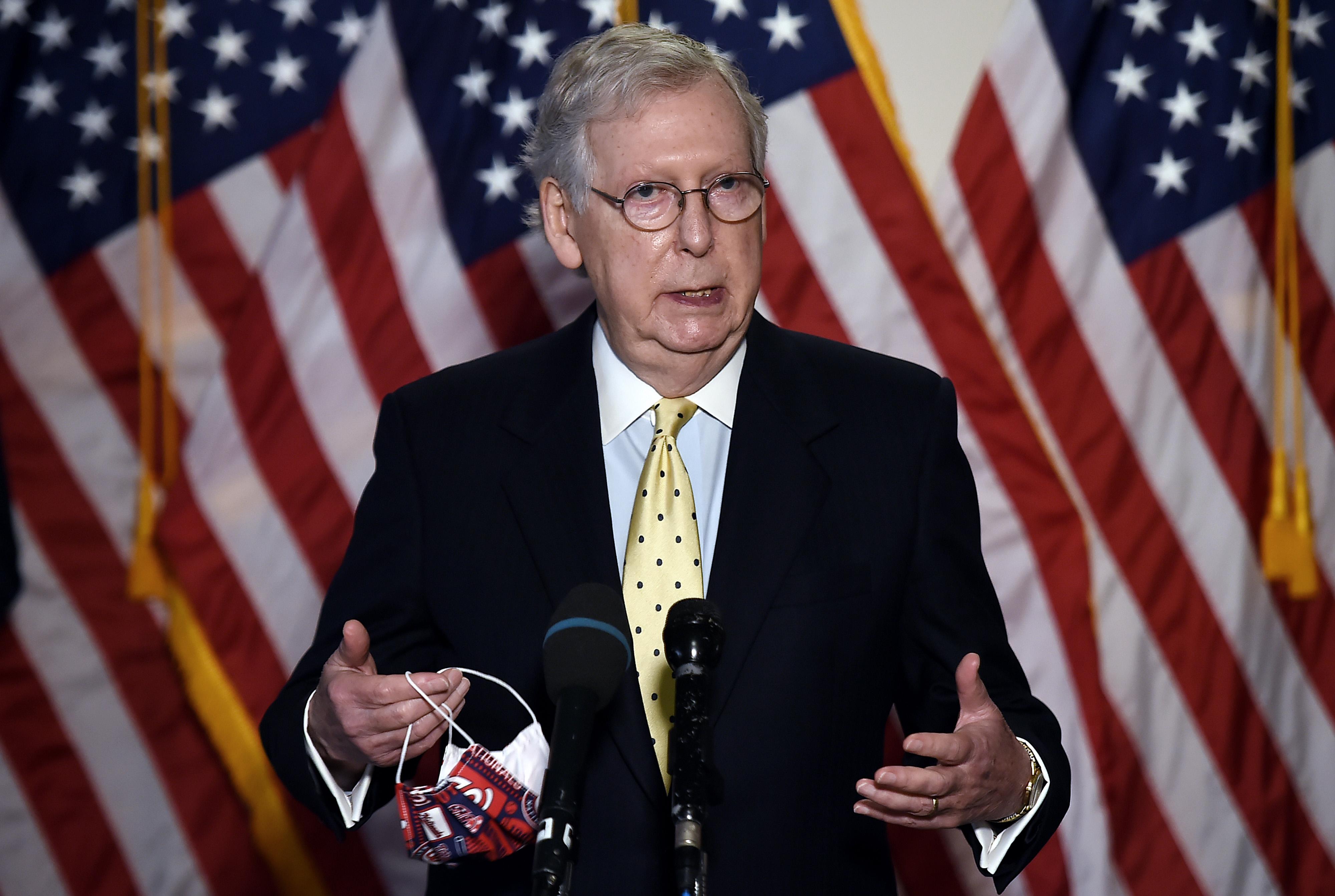 麥康奈爾:參院將為特朗普提名大法官投票表決