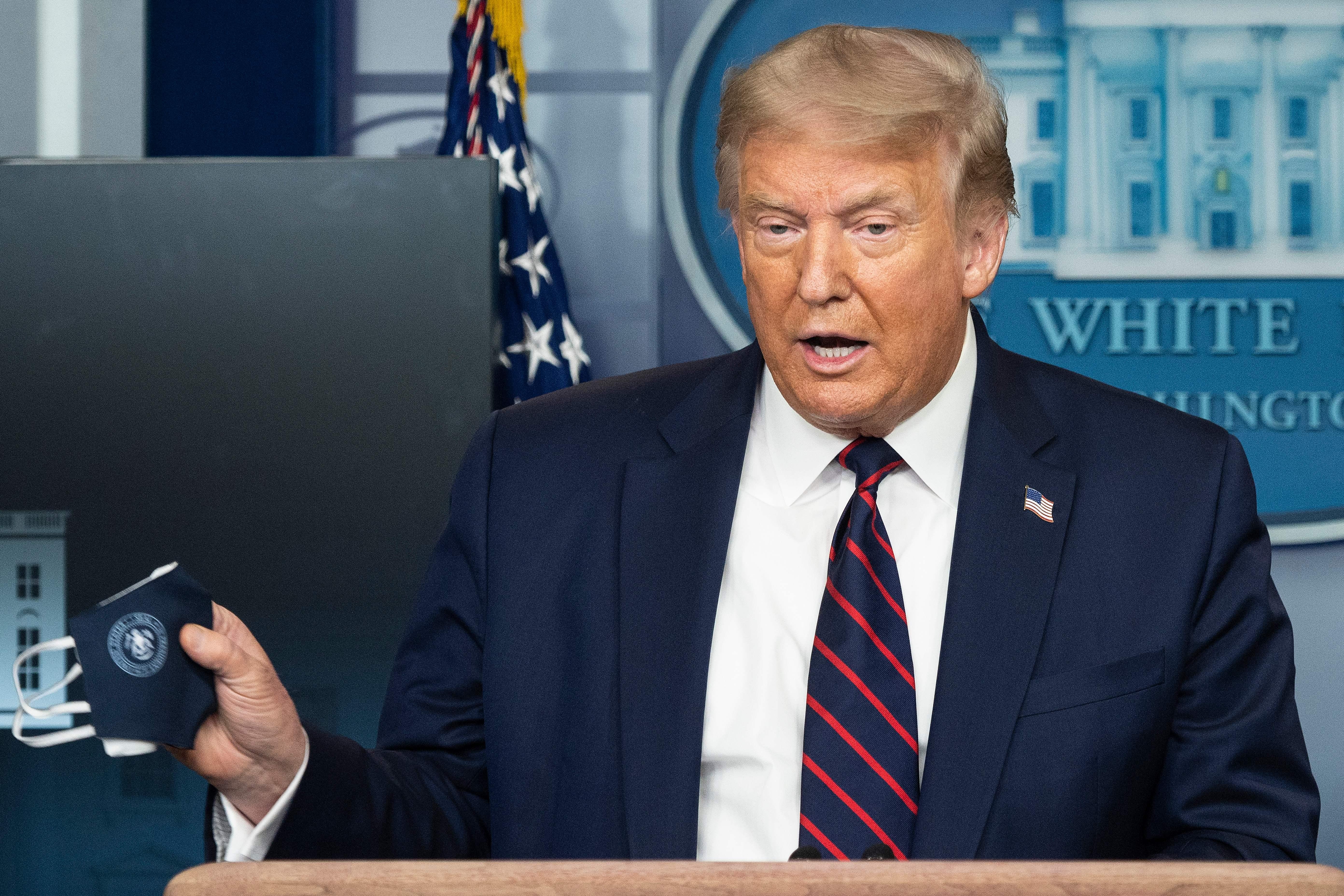 【直播】特朗普新聞會:經濟復甦 不再關閉美國