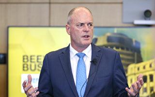 國家黨領袖托德·穆勒辭職。圖為2020年6月29日,托德·穆勒在新西蘭惠靈頓普華永道中心的惠靈頓商會發表演講。(Hagen Hopkins/Getty Images)