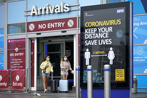 组图:西班牙疫情复燃 入境英国需隔离两周
