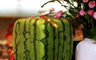 具有日本特色的方形西瓜 好看却不好吃