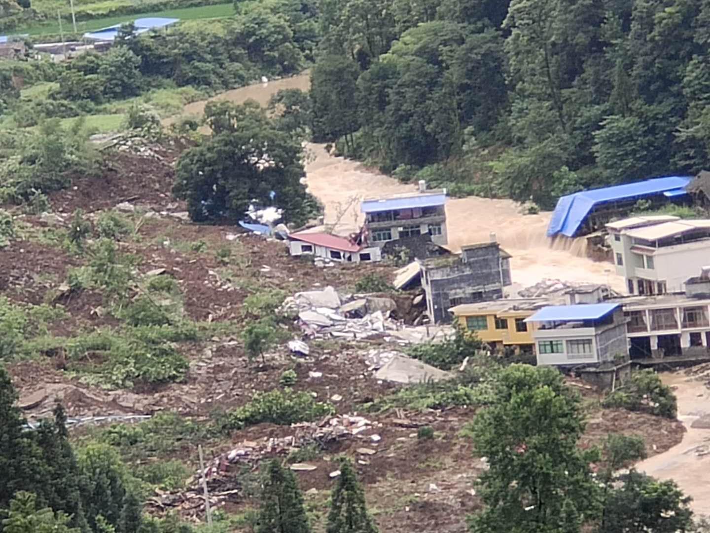 【一線採訪】貴州銅仁山泥傾瀉 村莊被埋