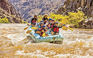 融入山河 體驗科羅拉多大峽谷的激流澎湃