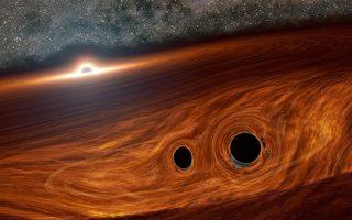 闻所未闻:两黑洞撞出火花?