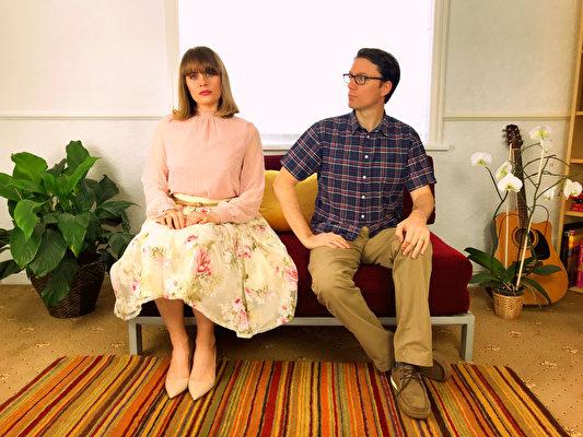 英國音樂人Yulia(左)和Patrick。(受訪人提供)