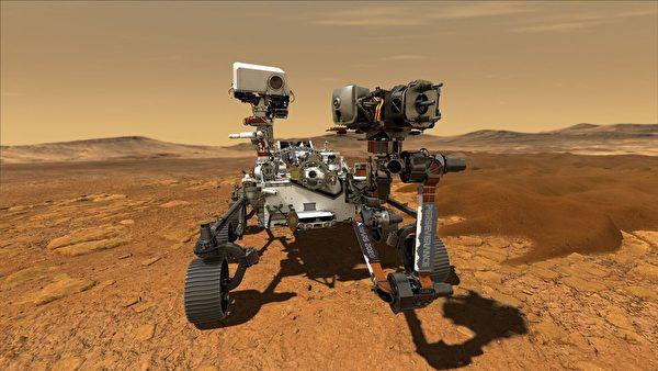 NASA「毅力號」(Perseverance)火星車。(NASA/JPL-Caltech)