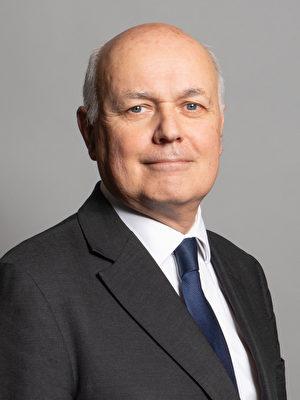 英國保守黨員、前保守黨黨魁Iain Duncan Smith先生簽署了聯合聲明。(維基百科公有領域)