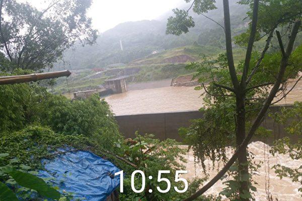 重慶調節壩排放大量洪水 居民遭噪音攪擾