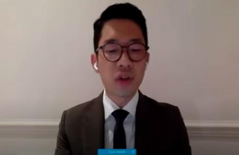 「香港眾志」創辦主席羅冠聰(國會影片截圖)