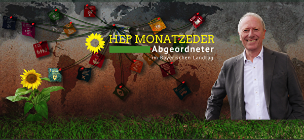 德國巴伐利亞州綠黨議員摩納茨艾德爾(Hep Monatzeder,Bundnis 90/Die Grunen)(圖片來源:Hep Monatzeder官網)