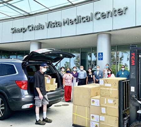 聖地亞哥臺美基金會向當地醫院捐贈醫護品