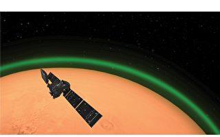 科學家發現火星上的綠光
