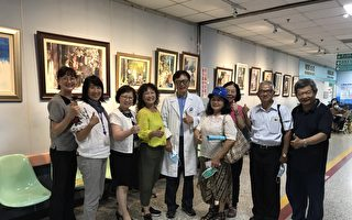 醫生畫家 台大雲林分院醫師葉寶專退休畫展