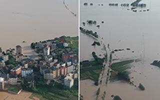 長江樅陽段水位超歷史極值 九江居民憂絕收
