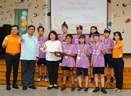 市长黄敏惠公布得奖组别。