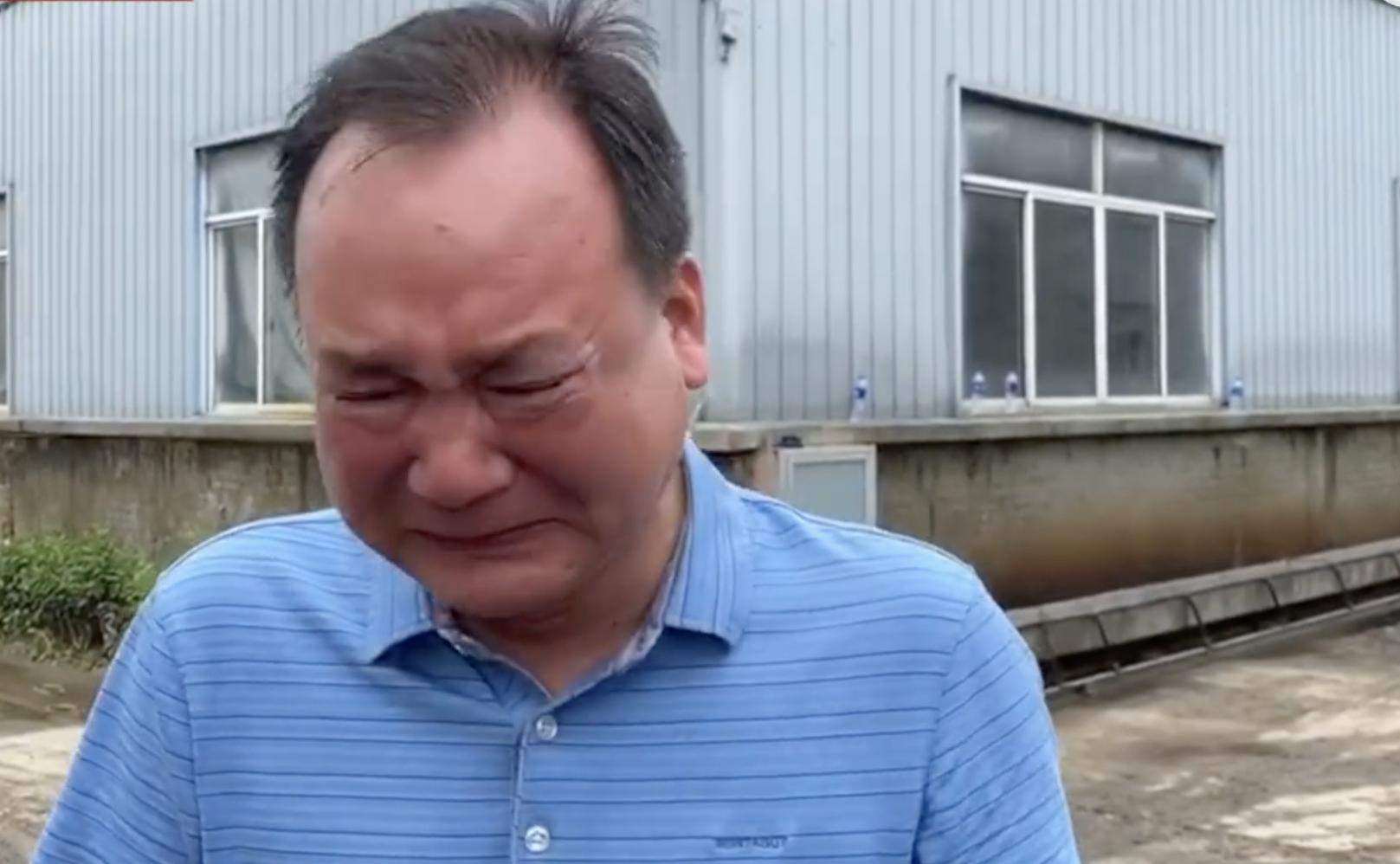 歙縣洪災 一茶企損失九千萬元 廠主失聲痛哭