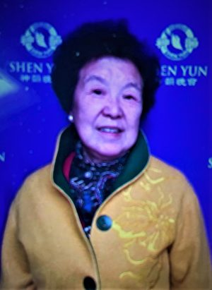 74歲高齡的上海法輪功學員林秋芃,在兩個月前的5月29日晚,突然被闖進家門的八個中共警察綁架。(圖片來源:林慎立提供)
