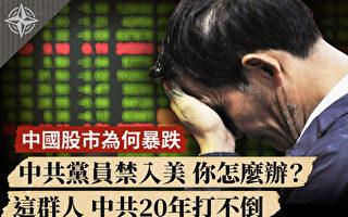 【十字路口】中国股市为何暴跌 中共党员禁入美