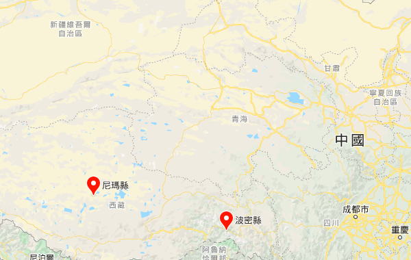 西藏地震不断 一日连发5次 最高震级6.6