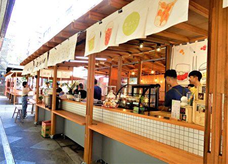日式木作攤座、傳統軟簾,文青感的街廓意象,及貨櫃藝廊,要讓愛逛街的民眾感受新樂趣。