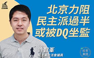 【珍言真语】许智峯:民心向背清晰 反暴政到底