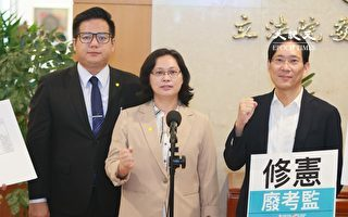 台公布廢考監修憲草案 民眾黨:總統府應暫停提名