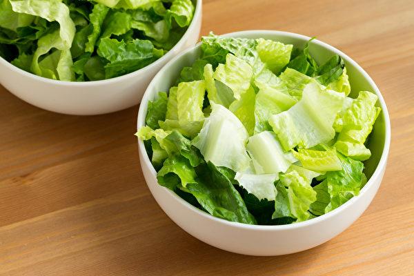 生菜是中西醫都推崇的減肥食物,能清熱解毒、瘦身養胃。(Shutterstock)