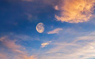 白天怎样赏月