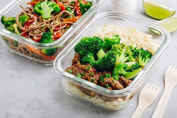 備餐便當如何製作與保存,才能保證營養均衡,且吃4餐也不流失美味?(Shutterstock)