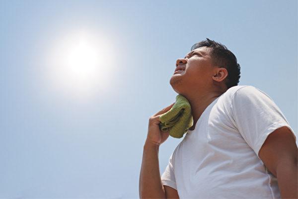 热性体质、虚性体质和湿性体质更容易受到热伤害。(Shutterstock)