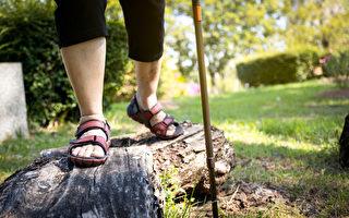 走路若变慢,要留意可能为肌少症。(Shutterstock)