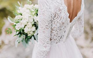 婚禮當天遇見車禍 美國女子穿婚紗救人