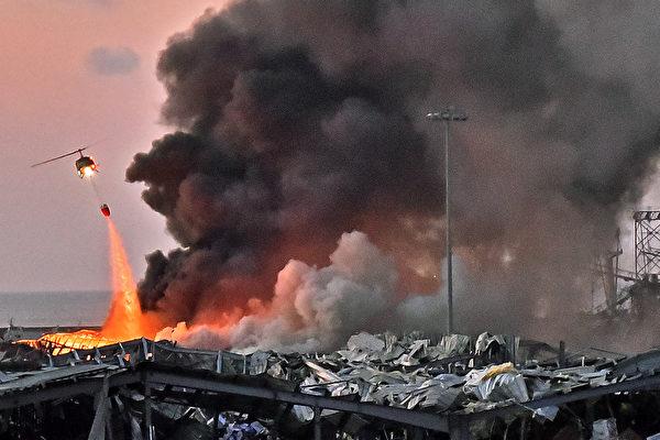 黎巴嫩大爆炸 川普:似是某种炸弹袭击