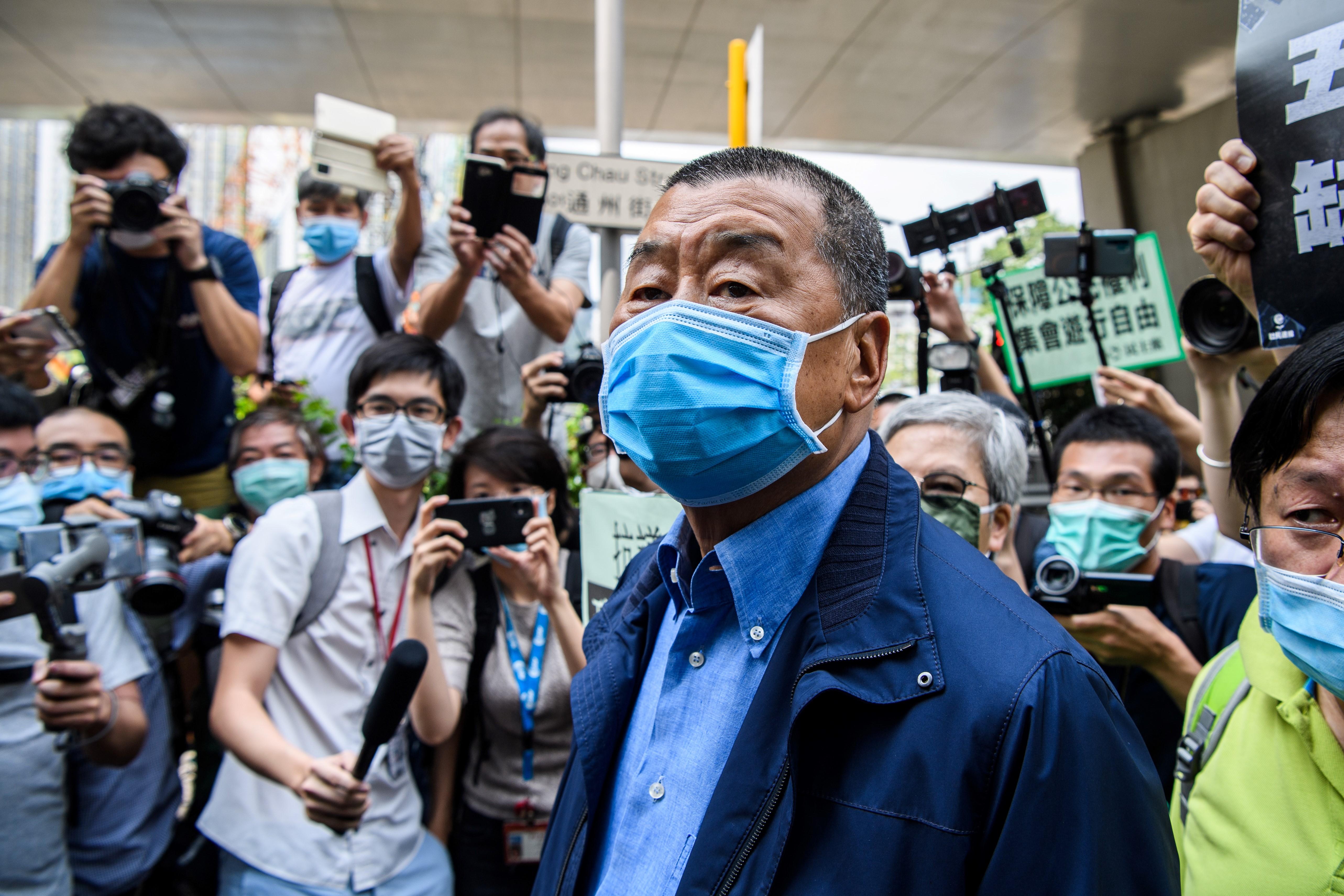 香港媒體大亨黎智英被捕 美參議員等回應