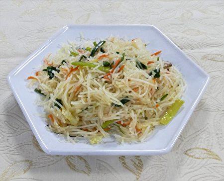 韭菜炒米粉