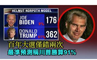【西岸觀察】最準預測稱川普勝算91%