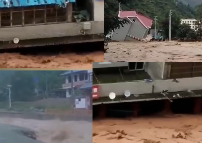 長江4號洪水之際 大陸多地將迎新一輪降雨