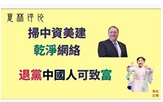 夏林视角 (1):美国扫除中企 中国人养党花多少钱