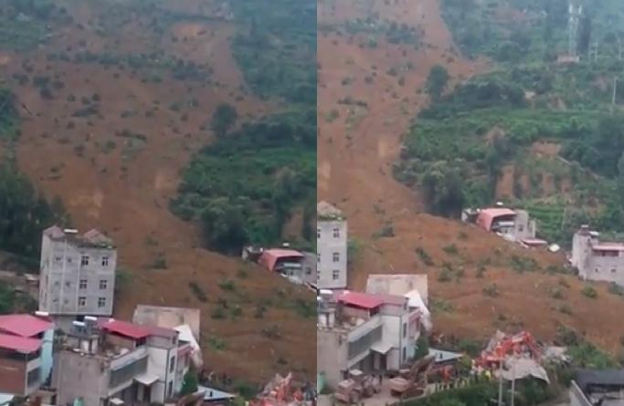 【一線採訪】四川漢源山泥傾瀉10戶被埋 已7死