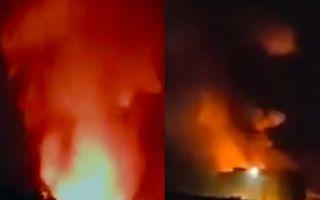 【視頻】浙江紹興一建材公司起火 致2死6傷