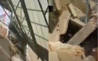 山西一飯店坍塌 29死7重傷 房子拼接而成