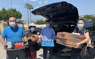 洛杉磯華裔支持警察 反對削減警隊預算