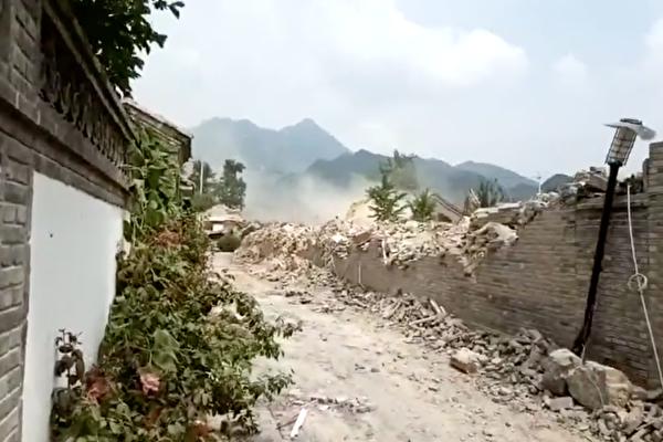 【一线采访】北京上百小区遭大规模强拆